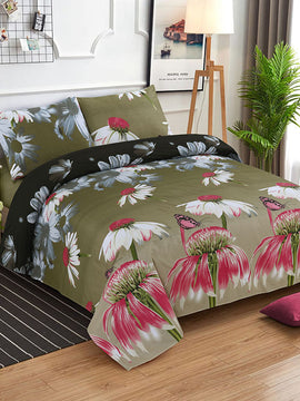 DOUBLE BED SHEET-BUTTERFLY - PRIMAL