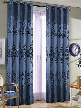 PALACHI CURTAIN 2PANELS-LIGHT BLUE - PRIMAL