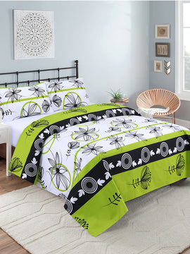 COTTON BED SHEET 3PCS-PARROT
