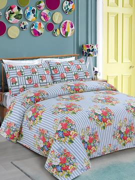 DOUBLE BED SHEET 3PCS-STRIPE