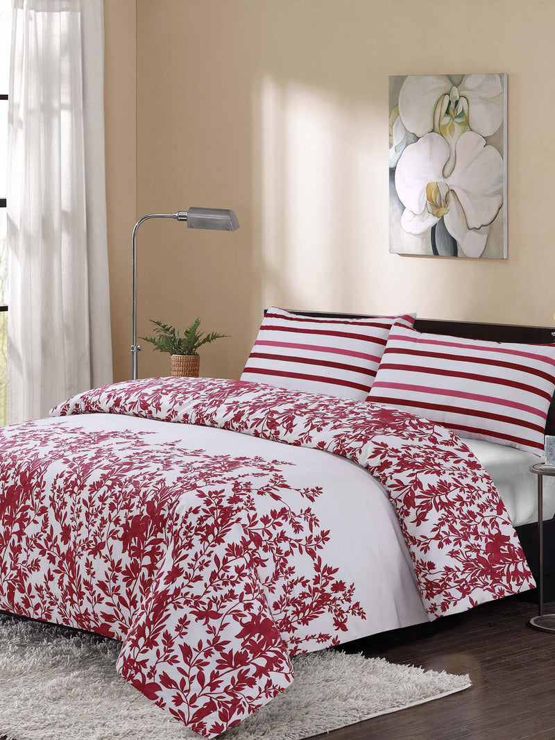 BED SHEET COTTON 3PCS-MAROON