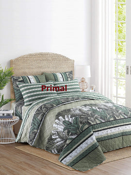 KING COMFORTER BED SPREAD 6 PCS-002 WITH FREE 1 EXTRA BED SHEET