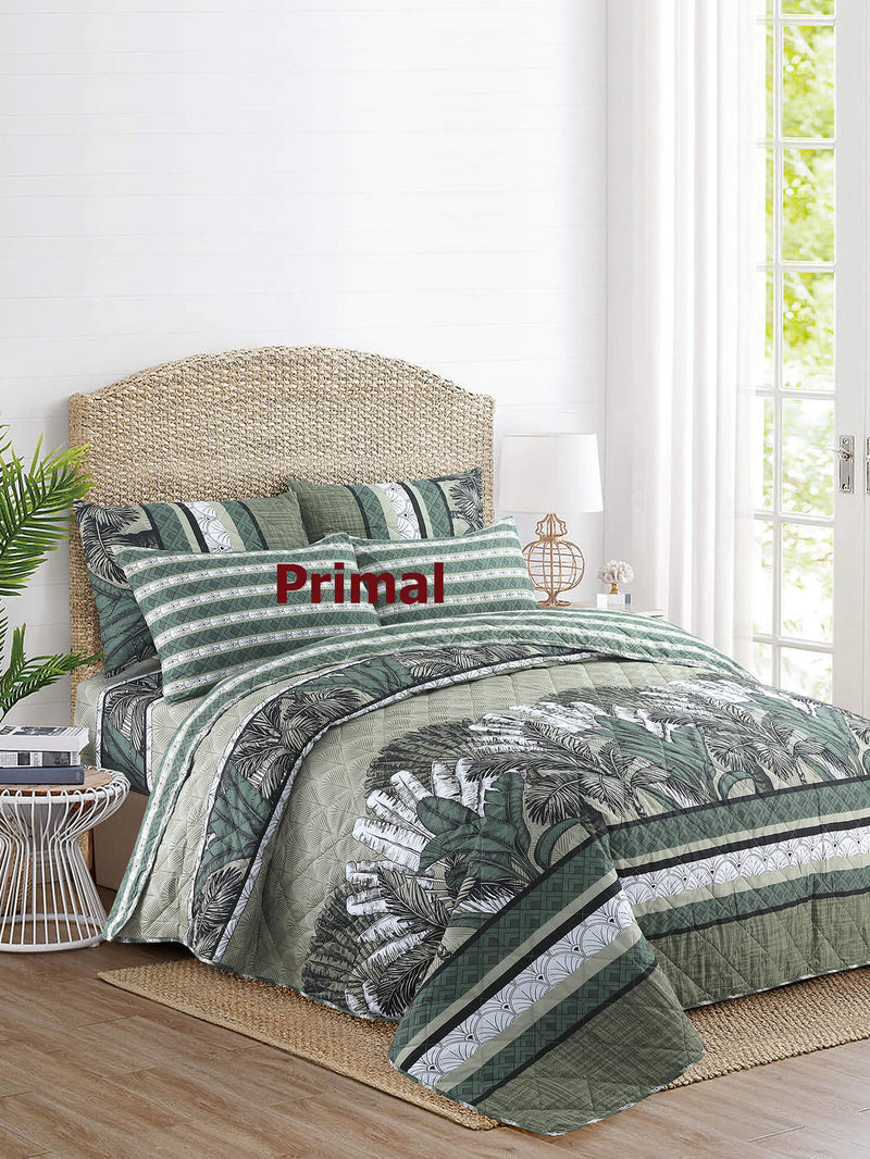 King Comforter Bed Spread 6 Pcs 002 With Free 1 Extra Bed Sheet Primal