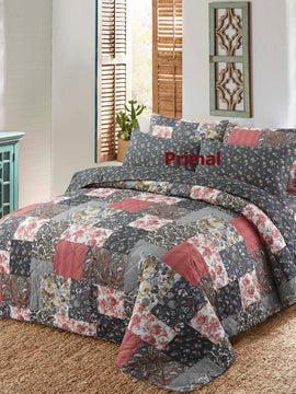 KING COMFORTER BED SPREAD 6 PCS-003