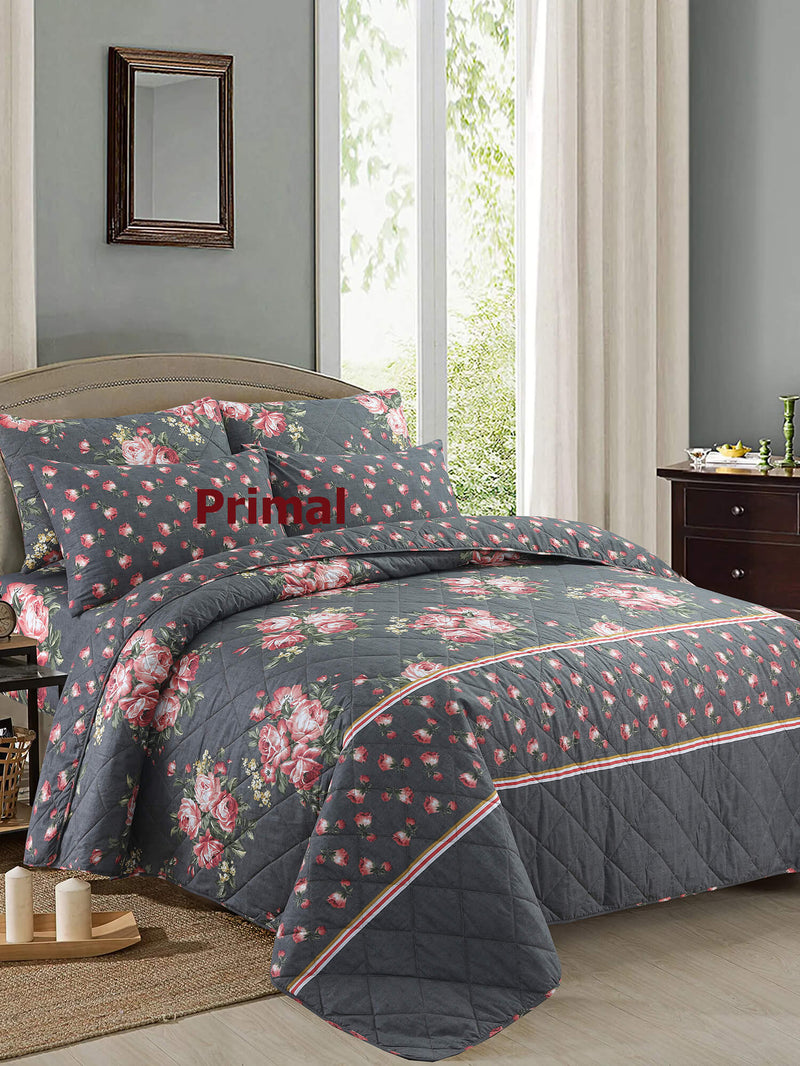 KING COMFORTER BED SPREAD 6 PCS-004