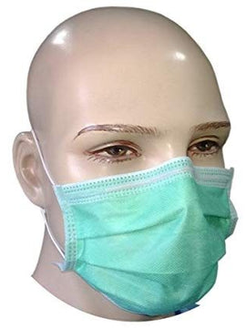 SURGICAL MASK 3 PLY WITH NOSE PIN