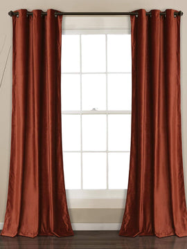 PREMIUM VELVET CURTAINS PAIR-PLUM