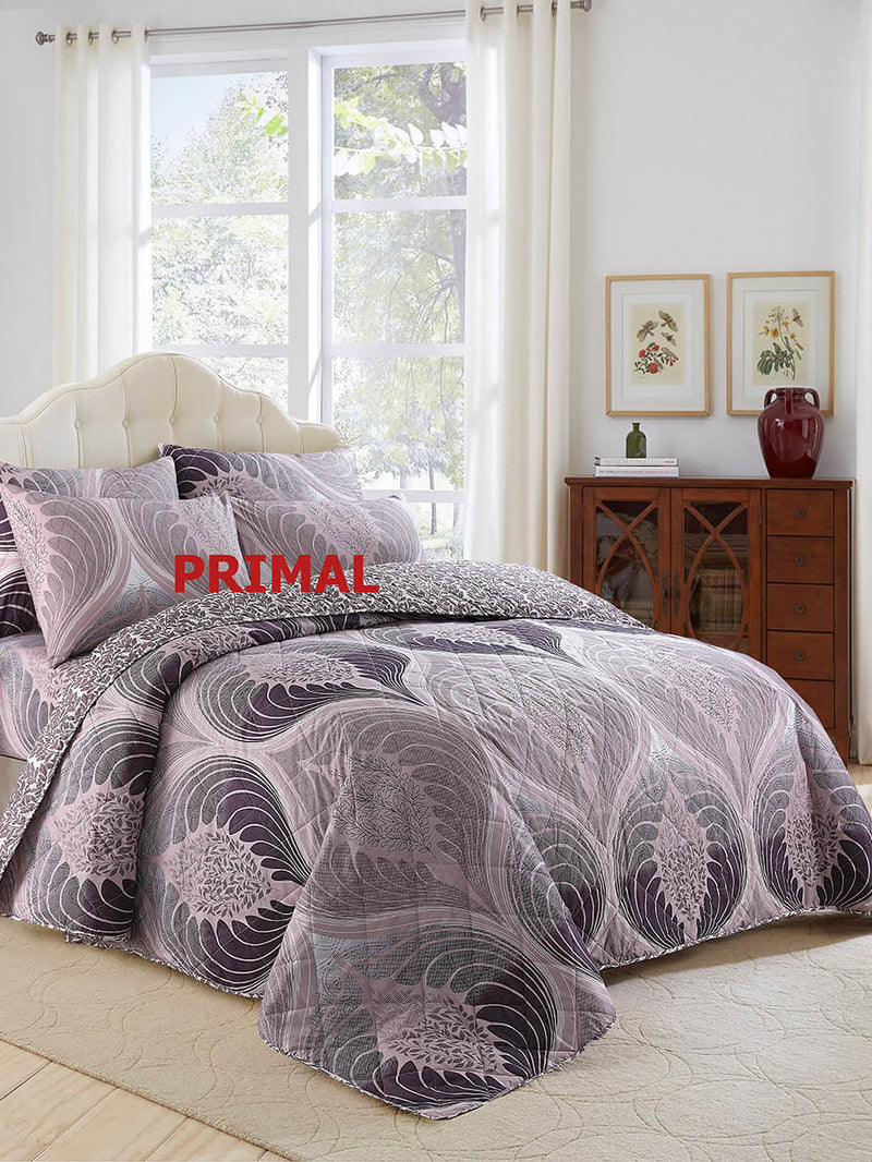 KING COMFORTER BED SPREAD 6 PCS-006