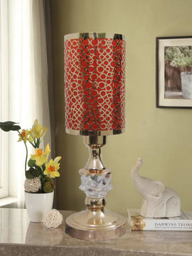 TABLE LAMP-RED