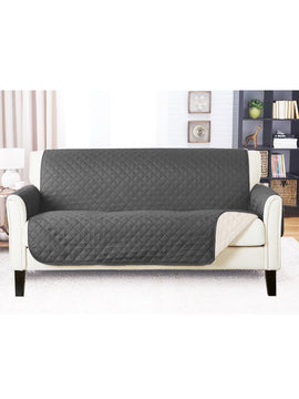 SOFA COVER-GREY WITH FREE TOWEL