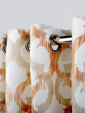 DUCK CURTAIN WITH LINING PAIR-PANTAGON
