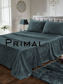 LUXURY VELVET BED SHEET 3PCS-SLATE
