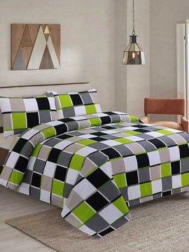 DUVET COVER SET COTTON 4PCS-PATCH
