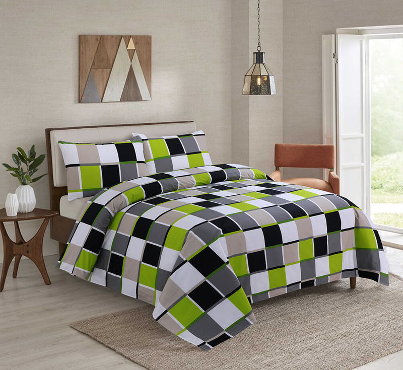 COTTON BED SHEET 3PCS-PATCH