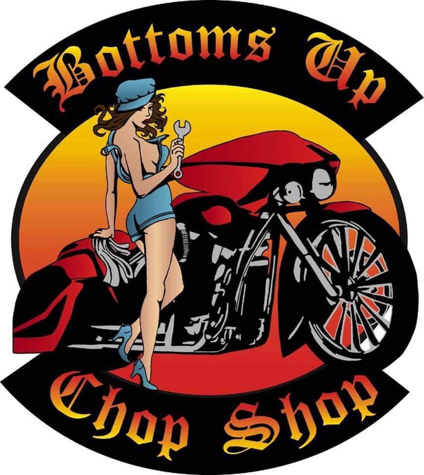 Bottoms Up Sticker Decal
