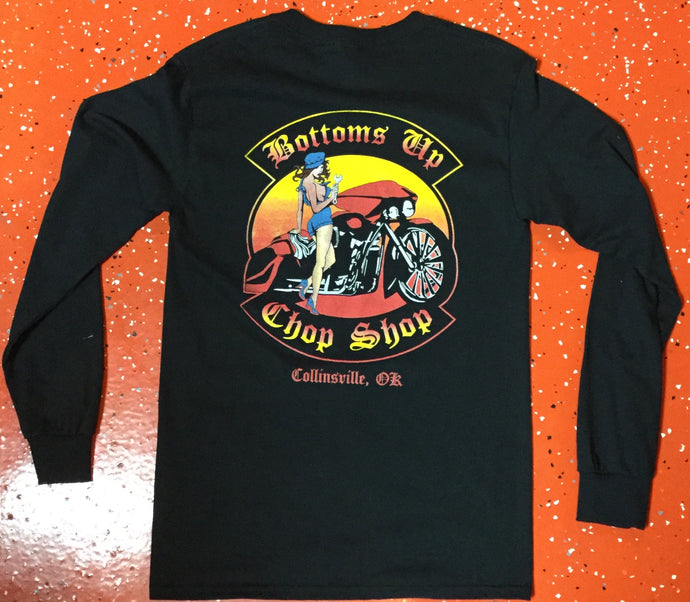 Bottoms Up Long Sleeved T-Shirt