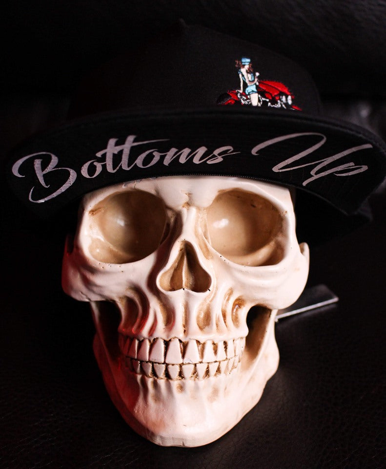 Bottoms Up Flat Bill Hats