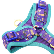 Retro Leopard Perfect Fit Harness
