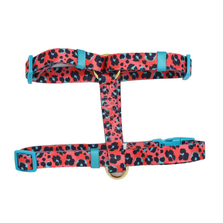 Retro Leopard Strap Harness