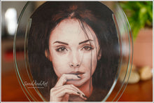 Load image into Gallery viewer, Sand Portrait Drawing Lusty Single Face LS3(18*25)