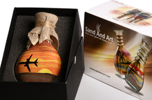 Load image into Gallery viewer, Sand Art Bottle Aircraft Module B