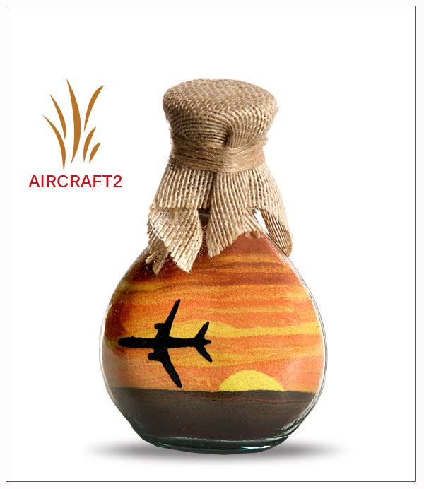 Sand Painting on Glass | Free Shipping