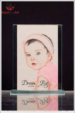 Load image into Gallery viewer, Custom Baby Portrait from Photo - FREE SHIPPING