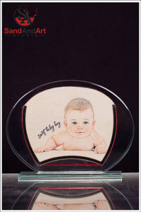 Baby Portrait From Photo - FREE SHIPPING
