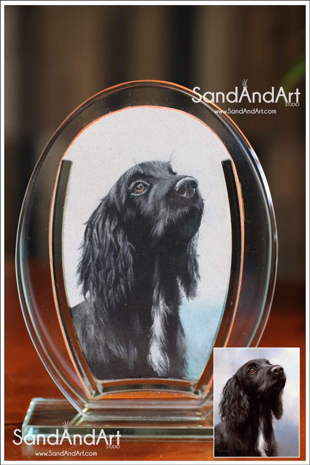 Painting Of Pet From Photo -FREE SHIPPING