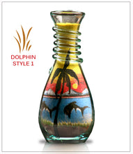 Load image into Gallery viewer, Unique Gift Sand Art Bottle Gift Dolphin  - FREE SHIPPING