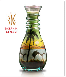 Sand Art Bottle Gift Dolphin Module B