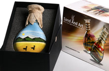 Load image into Gallery viewer, Sand Art Bottle Gift Duck Lake