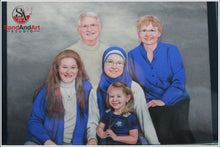 Load image into Gallery viewer, Personalize Your Family Picture to Sand Portrait - FREE SHIPPING