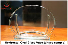 Load image into Gallery viewer, Personalize Your Picture into Glass Vase by Sand  - FREE SHIPPING