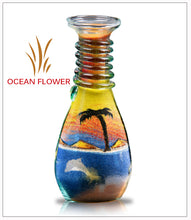 Load image into Gallery viewer, Sand Art Bottle Gift Ocean Flower