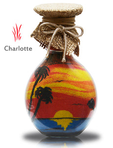 Sand Art In Glass Bottle | Free Shipping