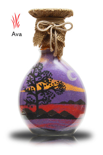 Sand Bottle Sand Art in a Bottle -Gift Ava