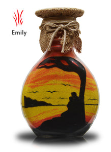 Sand Bottle Sand Art in a Bottle -Gift Emily