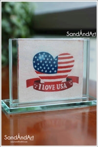 Custom Your Photos into Glass Vase by Sand -FREE SHIPPING