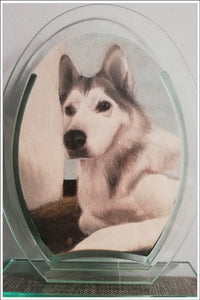 Pet Portrait Painting From Photo -FREE SHIPPING