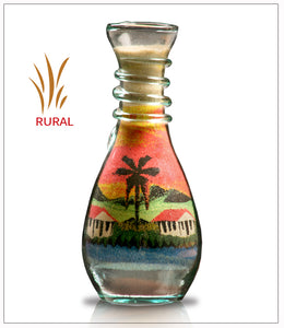 Sand Art Bottle Gift Rural