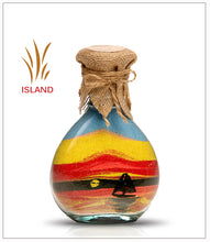 Load image into Gallery viewer, Colored Sand Bottle Sailing Boat