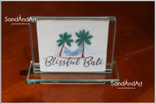 Load image into Gallery viewer, Custom Logo Picture to Sand Portrait into Glass Vase  -FREE SHIPPING