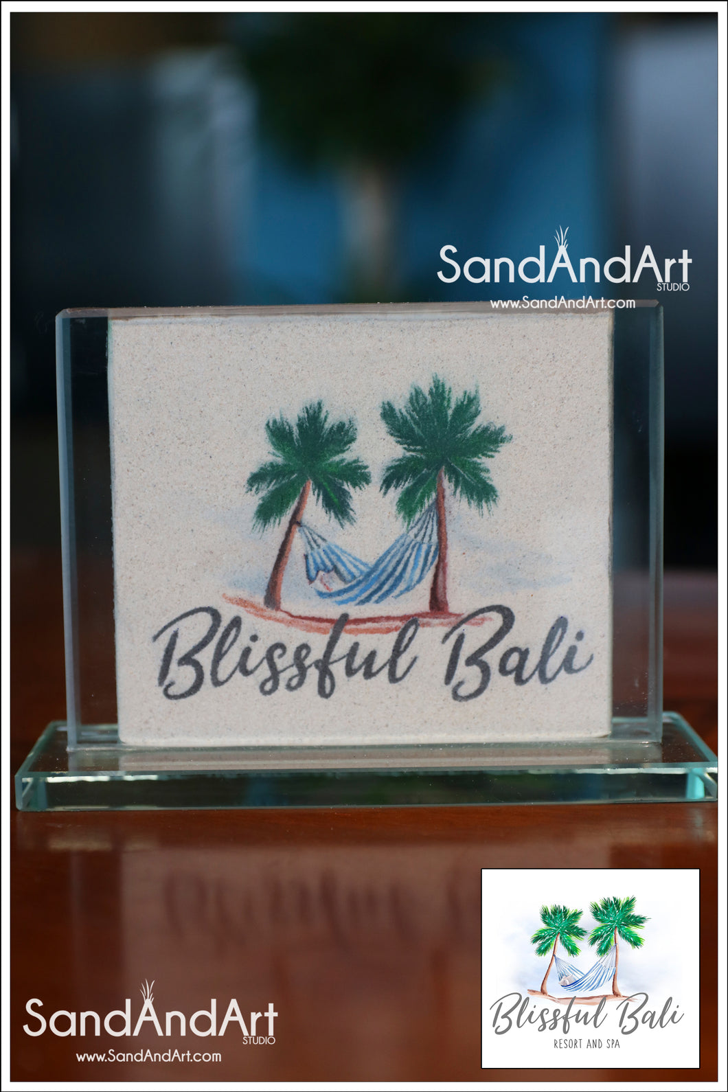 Custom Logo Picture to Sand Portrait into Glass Vase  -FREE SHIPPING