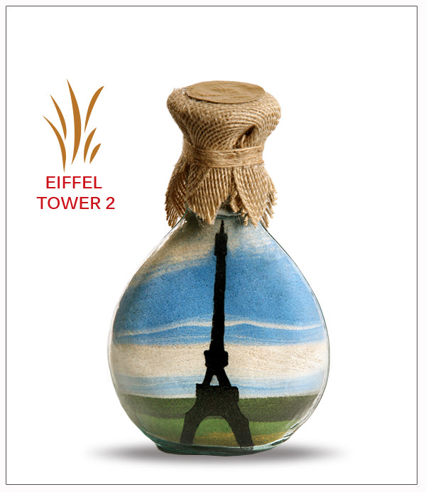 Sand Art Bottle Gift Eiffel Tower - FREE SHIPPING