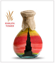Load image into Gallery viewer, Sand Art Bottle Gift Khalifa Tower