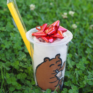 Boba Cup & Straw Gift Wrapping