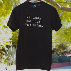...Just Asian (Unisex Tee - BLACK)