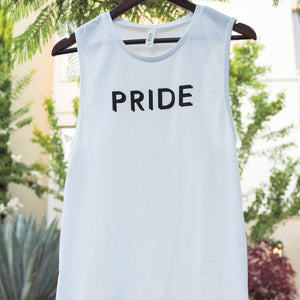 Pryde, spelled correctly... (Unisex Muscle Tank)