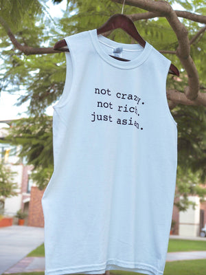 ...Just Asian (Sleeveless Tee - Unisex)